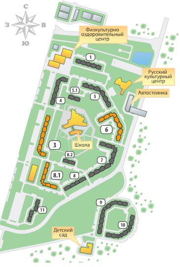план застройки бутово парк 2