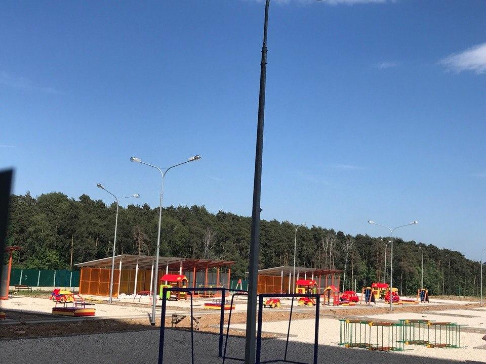 Окончание строительства детского сада